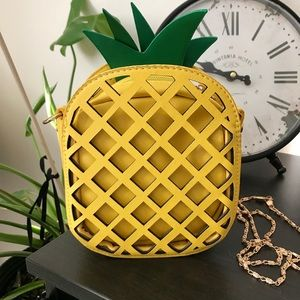 One of a kind Cute Yellow Pineapple Bag